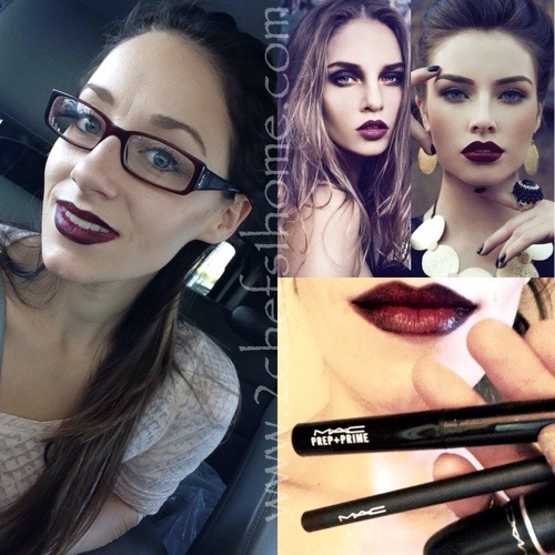 MAC, Rebel, Nightmoth, Diva Dark Lips Makeup Tutorial ...